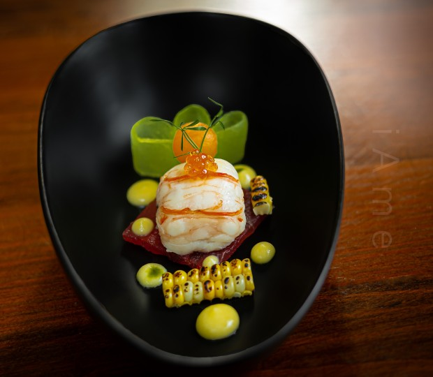 Lobster, Melon, Caviar