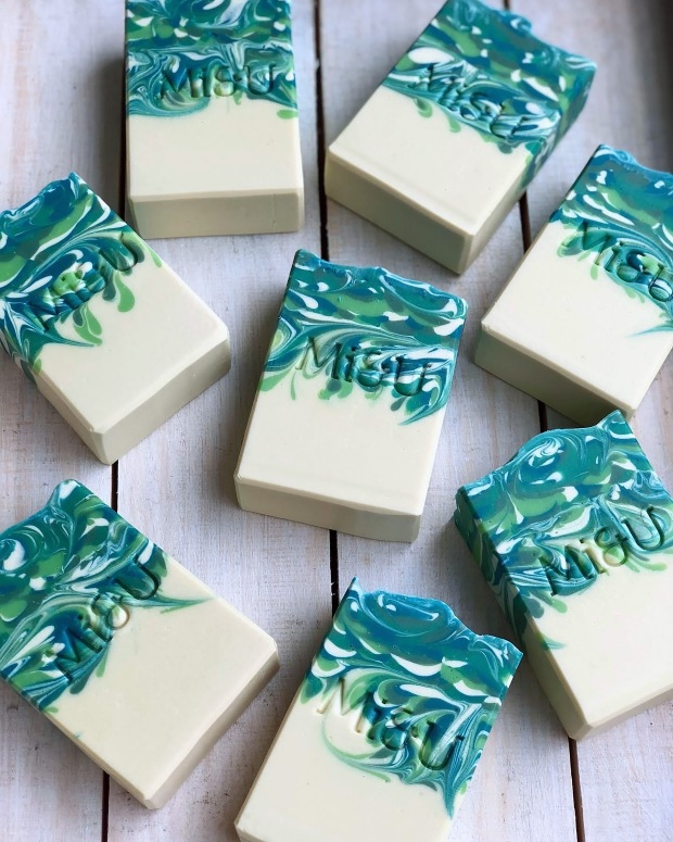 Mi&U Key Lime & Lemongrass Soap
